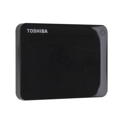 500GB Canvio Connect II Black