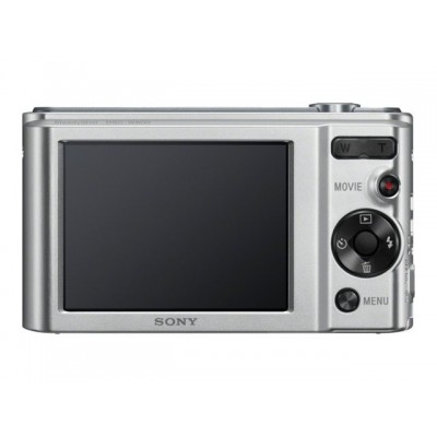Sony Camara W800 silver 20.1mp/HD/5x Optico/10x dig./LCD 2.7