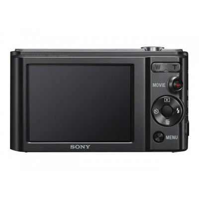 Sony Camara W800B Negro 20.1mp/HD/5x Optico/10x dig./LCD 2.7