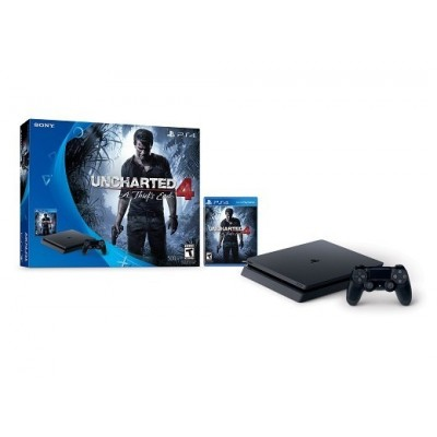 Consola PlayStation 4 Slim + Uncharted 4